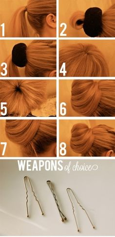 Style : Ten Cute Homemade Hair-Dos - Click image to find more Hair & Beauty Pinterest pins