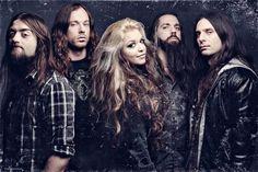 The Agonist with new singer Vicky! <3