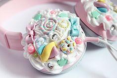 sweet-ticket ^3^)☆♪ #kawaii #music #headphones