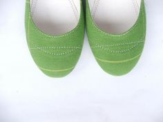ECO FRIENDLY COTTON FABRIC MADE FLAT SUMMER SHOE by extraseed
