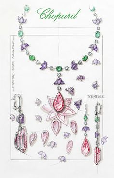 817993-1001-Rubellite-Necklace-Red-Carpet-Collection-sketch-1.jpg (427×667)
