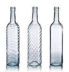 OI internally embossed wine bottles