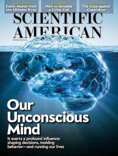 Scientific American Magazine Cover Janary 2014 by André Kutscherauer, via Behance Embodied Cognition, Scientific American Magazine, Degrees Of Freedom, Citizen Science, Scientific Method, Negative Emotions, Trauma, Behavior, Psychology