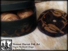 ~The Shoppe Keeper`s Cupboard~ - Vermont Harvest Folk Art by Doreen Frost…