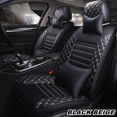 HEAVY DUTY BLACK /& GREY TRAX SEAT COVER SET for FORD RANGER