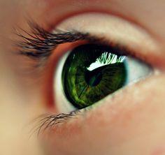 Emerald Green Eyes. wow!