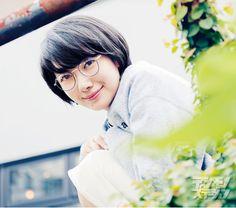 ビジョメガネ × 波瑠 ビジョメガネ2015.10.24