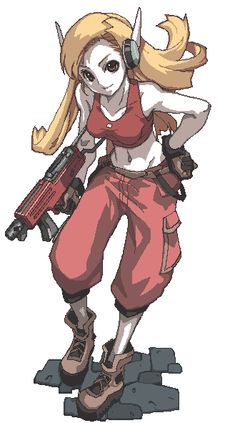 Curly Brace from Cave Story... Reason for cosplay: I just love her so much. She's so cool.  And her costume is pretty easy.  :)