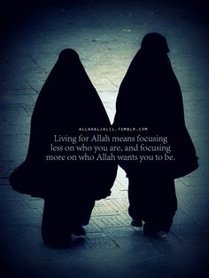 Live for Allah