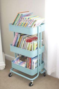 Półka na książki w pokoju dziecka Kitchen Bins 69dc19e66cd8d