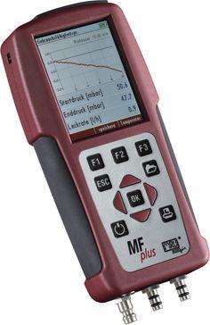 MFplus Multifunkcionális mérőműszer: Nyomás / differenciálnyomás mérés, hőmérséklet / hőmérséklet különbség mérés, terhelés mérés, tömítettség vizsgálat, szivárgás keresés, repedés vizsgálat, páratartalom mérés, áramlási sebesség mérés, 4 Pa-Teszt Electronics, Phone, Ice, Telephone, Mobile Phones, Consumer Electronics