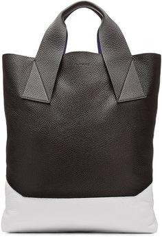 Jil Sander Leather Shopper - sale handbags 05010fe8357de
