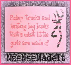 Pink Camo Wall Sign by NaeNaeMadeIt on Etsy