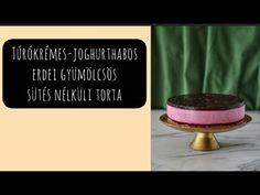 Túrókrémes-joghurthabos erdei gyümölcsös torta (sütés nélkül) Letter Board, Lettering, Drawing Letters, Brush Lettering