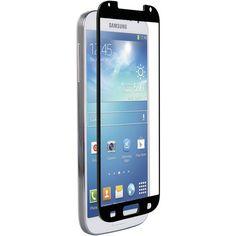 Znitro Samsung Galaxy S 4 Nitro Glass Screen Protector (black) - MNM Gifts