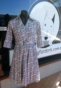 The Something for Doris 'Shona' Shirt-waisted Dress   #somethingfordoris #1940's #vintagestyle #vintagedesign #pinup #rockabilly #vintageinspired