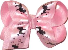 KB-387S Toddler Pink with Poodles and Hearts, $5.95
