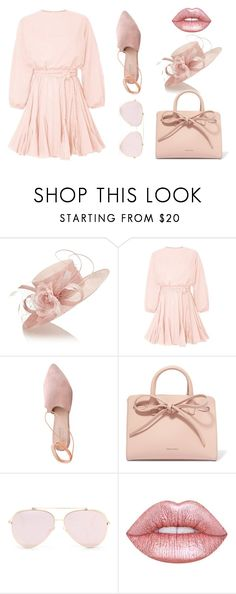 """Ready For Easter Sunday"" by smileforsierra ❤ liked on Polyvore featuring Jacques Vert, Summit, Mansur Gavriel and Lime Crime"