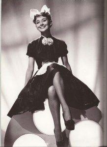 Audrey Hepburn, 1950, Laughter in Paradise