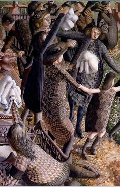 The Resurrection, Reunion 2 1945 Stanley Spencer
