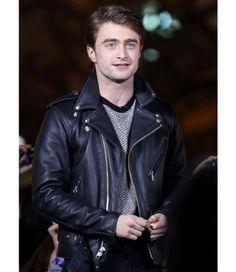 fea45477fe076 Daniel Radcliffe Leather Jacket