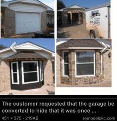 Converted garage.