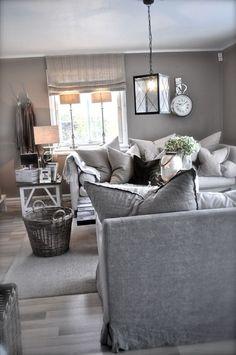 Modern Gray And Tan Living Room Decor Ideas 13