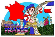 France - Countries - FREE Lesson Plans & Games for Kids