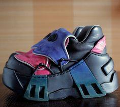 SWEAR costume Cyber Cosplay platform shoes by VintagePlatformDeal