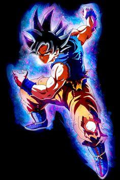 Ultra Instinct Goku from Dragon Ball Dragon Ball Gt, Anime Echii, Anime Art, Akira, Goku Wallpaper, Animes Wallpapers, Son Goku, Artwork, Manga Girl