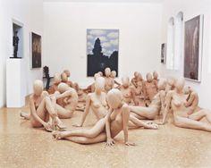 VANESSA BEECROFT VB47.377.dr (Peggy Guggenheim Collection, Venice), 2001