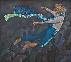 Dreamer, 80x70 | Akzhan Abdalieva