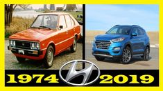 Hyundai - Evolution (1974 - 2019) | The Evolution of Hyundai Cars And Motorcycles, Evolution, History, World, Vehicles, Historia, Rolling Stock, Vehicle, Peace