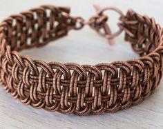 Caylan  A Celtic Bracelet Celtic Jewelry Wire Wrapped