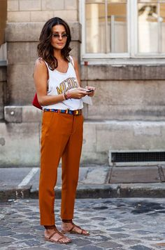 more orange, sartorialist