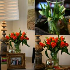 Parrot tulips for a spring luncheon Mary Lillie Memory Club Luncheon – A Pretty Purple Celebration
