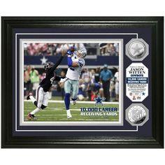 "Jason Witten Dallas Cowboys ""10,000 Yards"" Silver Coin Photo Mint - $99.99"