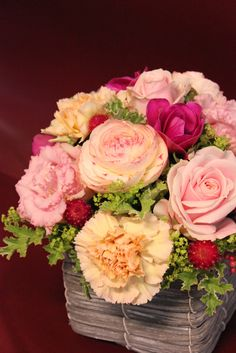 roses and carnations