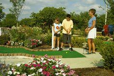 Miniature golf at The Hershey Lodge. #HersheyPA