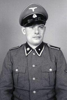 An SS-Unterscharführer serving at the Mauthausen-Gusen concentration camp.