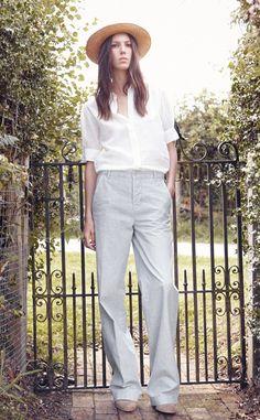 Classic white blouse