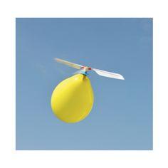 Ballon helikopter - http://credu.nl/product/ballon-helikopter/