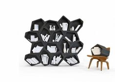 Modular Furniture Units Turning into Tables, Stools, Shelves and Storage Containers