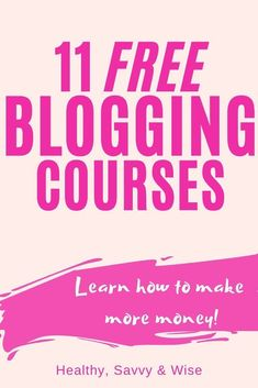 Do NOT miss these free resources -- you Make More Money, Make Money Blogging, Blogging Ideas, Earn Money, Make Blog, How To Start A Blog, Best Online Jobs, Tips & Tricks, Blogging For Beginners