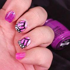Bestie Twin Nails with Pish Posh Polish