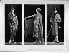 Modes (Paris) 1924  Toilettes de Lucile