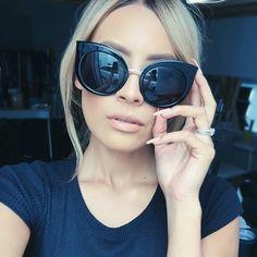 quay sunglasses ♚ Pinterest; @Ellieepope ♔