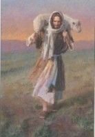 Morgan Weistling - The Lord Is My Shepherd - Christ-Centered Art Images Of Christ, Pictures Of Christ, Lord Is My Shepherd, The Good Shepherd, Jesus Shepherd, Lds Art, Bible Art, Arte Lds, Image Jesus