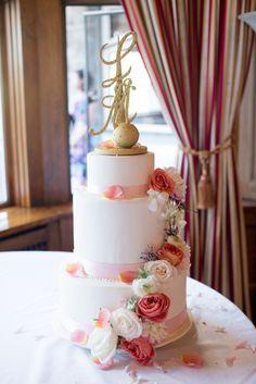 Beautiful pastel wedding by Christie Graham Photography | www.onefabday.com