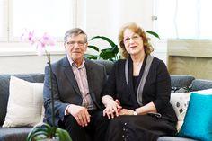 V7:n johtajat ja perustajat Martti ja Mirja Ojares ovat kiitollisia uusista tiloista. KUVA: SUSANNA SARIMAA